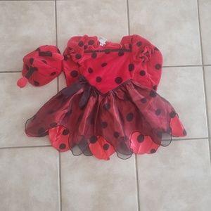 3t Girls Ladybug Costume